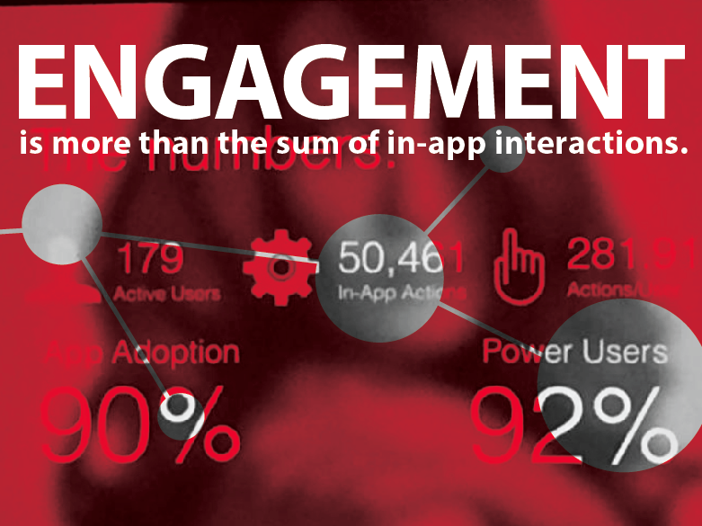 Audience Engagement in Your Event App is not the Sum of In-App Clicks